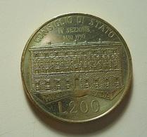 Italy 200 Lire 1990??? - 1946-… : République