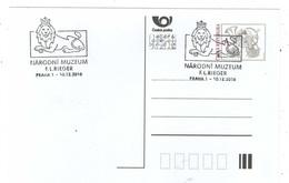 Czech Republic 2018 - 100 Years Czech National Museum, Special Postal Cancellation - Museums