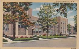 New York Ossining Park School Curteich - Other