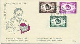 BELGIO - FDC EDITION RODAN 1959 - EUROPA DU COEUR - EUROPA VAN HET HART - FDC