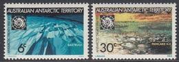 Australian Antarctic Territory 1971 - 10th Anniversary Of The Antarctic Treaty - Mi 19-20 ** MNH - Territoire Antarctique Australien (AAT)