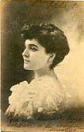 MUJER RETRATO, MODA ANTIGUA / WOMAN PORTRAIT, OLD FASHION / CIRCA 1910 POSTAL POST CARD -LILHU - Fotografie