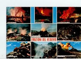 U4141 Cartolina 1981 Con ERUZIONI DEL VESUVIO - Volcano Eruption, éruption Du Volcan, Vulkanausbruch _ 4174/F ED CAR - Italia