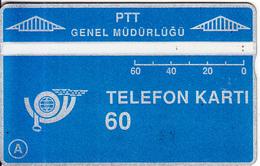TURKEY(L&G) - Telecom Logo 60 Units, CN : 906D, 06/89, Used - Turquie
