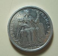 French Polynesia 1 Franc 1987 - Polynésie Française