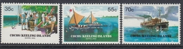 Cocos Islands 1984 - 75th Anniversary Of The Cocos Barrel Mail - Mi 115-117 ** MNH - Cocos (Keeling) Islands