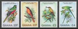 Ghana 1981 Mi# 872-75** BIRDS - Ghana (1957-...)
