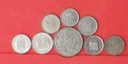 VENEZUELA    - LOT 8 COINS    - (Nº10799) - Venezuela