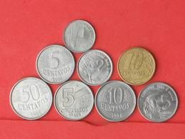 BRAZIL    - LOT 8 COINS    - (Nº10802) - Brésil