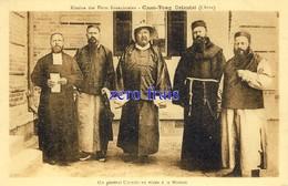 CN - Chine - Mission Des Pères Franciscains - Chan-Tong - Un Général Chinois En Visite à La Mission - Chine