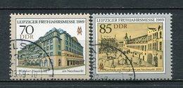DDR Nr.3235/6              O   Used      (22086) ( Jahr: 1989 ) - DDR