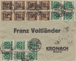 Deutsches Reich INFLA Brief 1920-23 - Briefe U. Dokumente