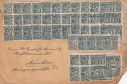 Deutsches Reich INFLA Brief 1920-23 - Allemagne