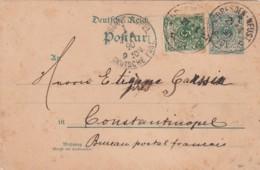 Deutsches Reich Postkarte 1890 - Lettres & Documents