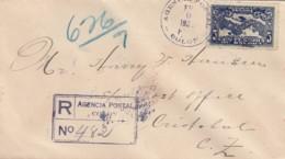 Panama R Cover 1928 Charles Lindbergh - Panama