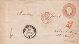 AD Baden R Umschlag U11A 1863 - Baden