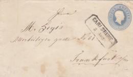 AD Baden Umschlag U10 1863 - Baden