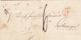 AD Baden Brief 1845 - Baden