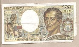 Francia - Banconota Circolata  Da 200 Franchi P-155a.5 - 1985 - 1962-1997 ''Francs''