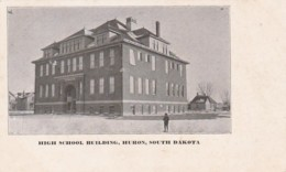 South Dakota Huron High School Building Private Mailing Card - Etats-Unis