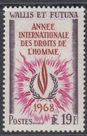 Wallis And Futuna 1968 - International Human Rights Year - Mi 218 ** MNH - UNO