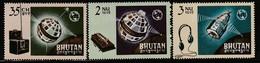 BHOUTAN - N° 60/2  ** (1966) U.I.T - Bhoutan