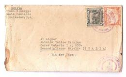 EL SALVADOR - COVER TO ITALY - SERVICIO INTERNACIONAL - STAMPS - 1933 - El Salvador