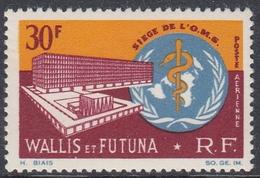 Wallis And Futuna 1966 - Airmail Stamp: Inauguration Of WHO Headquarters, Geneva - Mi 212 ** MNH - WHO