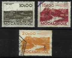 MOZAMBIQUE, AF 341/43, Yv 377/79, Used, F/VF, Cat. € 11,00 - Mozambique