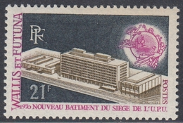 Wallis And Futuna 1970 - Inauguration Of New UPU Headquarters Building, Bern - Mi 226 ** MNH - UPU (Universal Postal Union)