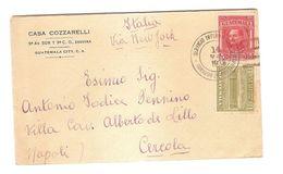 GUATEMALA - COVER TO ITALY - SERVICIO INTERNACIONAL - STAMPS 1938 - Guatemala