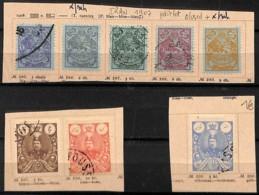[822060]Iran 1907 - Lot Obl/used + */mh - Iran