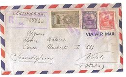 VENEZUELA - AIR MAIL COVER TO ITALY - CORREOS CERTIFICADA - STAMPS - 1948 - Venezuela