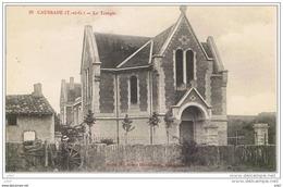 Cpa..82..CAUSSADE..LE TEMPLE..A VOIR - Caussade