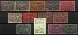 [822531]Guatemala 1897 - N° 62/75 Sans 71 Et 73, Archéologie - Guatemala
