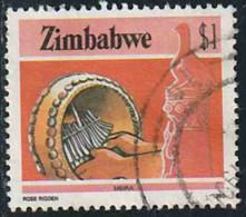 Zimbabwe 1985 Yv. N°102 - 1d Mbira - Oblitéré - Zimbabwe (1980-...)
