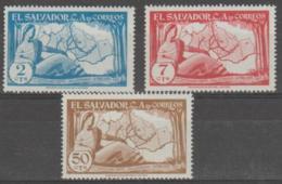 EL SALVADOR - 1956 Maps. Scott 682-684. Mint - El Salvador