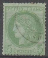 FRANCE - 1872 5c Ceres. Scott 53. Used - 1871-1875 Cérès