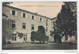 Cpa..47..SANATORIUM  DE MONBRAN.. FACADE PRINCIPALE. - France
