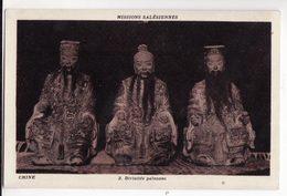 CHINE   Missions Salésiennes    Divinités Païennes - Chine