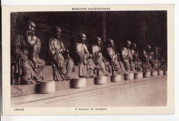 CHINE   Missions Salésiennes    Galerie De Boudhas - Chine