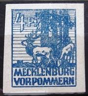 ALLEMAGNE Rép.démocratique.Zone Soviétique. Mecklembourg-Poméranie               N° 37                   NEUF* - Sowjetische Zone (SBZ)