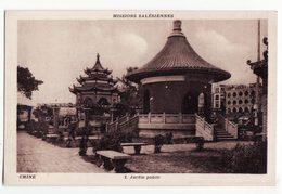 CHINE   Missions Salésiennes    Jardin Public - Chine