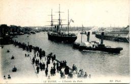 """N°67641 -cpa Le Havre -le """"St Germain"""" Et Le Remorqueur """"République"""" 1500 Cv - Remorqueurs"""