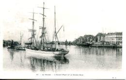 N°67642 -cpa Le Havre -l'avant Port Et Le Grand Quai- - Segelboote