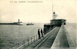 N°67644 -cpa Le Havre -la Nouvelle Entrée Du Port- - Port