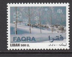 2004 Lebanon Liban Skiing Complete Set Of 1 MNH - Liban