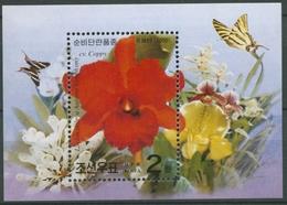 "Korea (Nord) 2000 Orchidee ""Autum Symphony"" Block 465 A Postfrisch (C74886) - Korea (Nord-)"