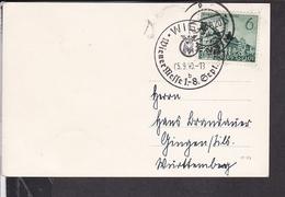 Sonderstempel Wiener Messe 1940 - Deutschland