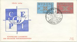 BELGIO - FDC EDITIONS RODAN 1963 - EUROPA UNITA - CEPT - SPECIAL CANCEL GENT - 1961-70